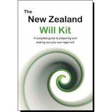 New Zealand Will Kit for two adults