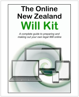 New Zealand Will Kit for one adult