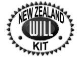 New Zealand Will Kit stamp